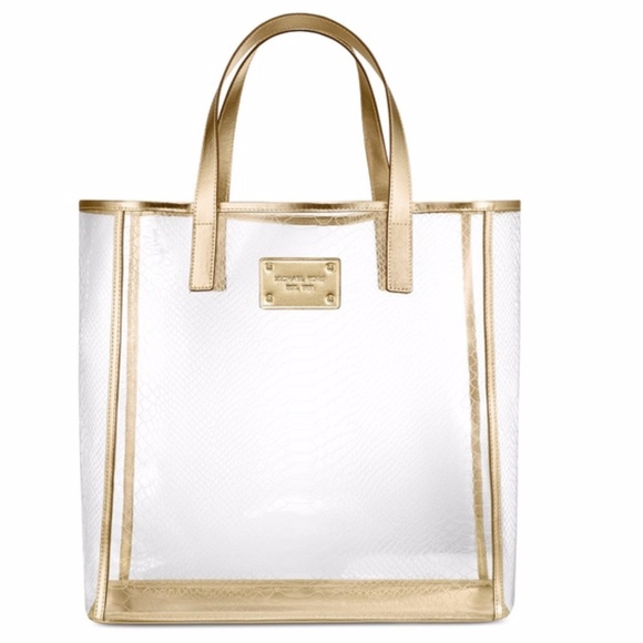 070e3ac8770f47 Michael Kors Bags | Clear Tote Bag New With Tag | Poshmark